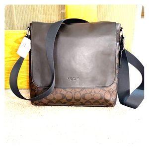 💕 Coach mahogany brown laptop bag nwt $375 💕